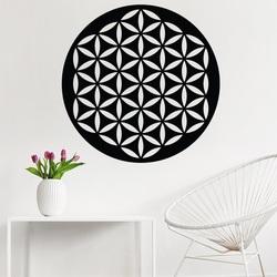 Kühle hölzerne Abbildung der Mandala auf YISUIYU-Sperrholzwand