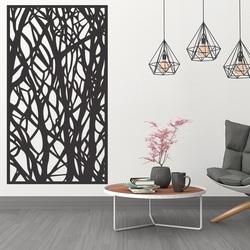 Hölzernes Dekoranstrich an der Wand aus Holzsperrholz Topol HAVULKY