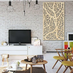 Holzbild Dekor an der Wand aus Holz Sperrholz Topol LOGOTECH