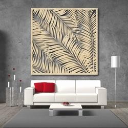 Wandbild aus Holz Sperrholz Topub LUBELA geschnitzt