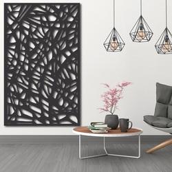 Holzbild an einer Wand aus Sperrholz Topol RHELLOOO