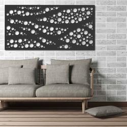 Wandmalerei aus Holz Sperrholz Pappel KREISE