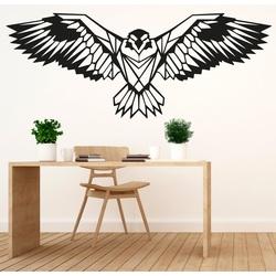 SENTOP geschnitztes hölzernes Bild eines Adlers PR0233 schwarz