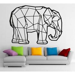 STYLESA Holzbild auf Sperrholz Elefant PR0239 schwarz