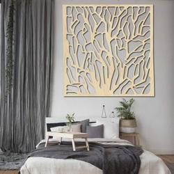 Geschnitzte Holzwand Bild aus Sperrholz KVADER