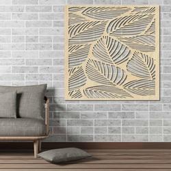 Geschnitzte Holzwand Bild aus Sperrholz ORKO