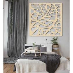 Rzeźbiony obraz na ścianie drewnianej sklejki HORLATF