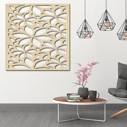 Geschnitzte Wandmalerei aus Sperrholz NOVAK