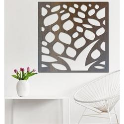 Geschnitzte Wandmalerei aus Sperrholz Blume LUSEKOJ