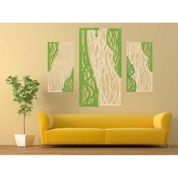 Wunderbares Bild an der Wand aus Holzsperrholz FLORALIS Hinterteil Pappel Original, Farbe des Vorderteils Ihrer Wahl