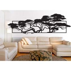 Elegant geschnitzt Bild von Sperrholz in der Gestaltung von Bäumen 3D POMPEZII