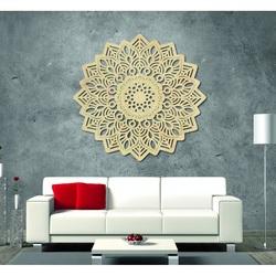 Magie Bild an der Wand aus Holz Sperrholz Mandala